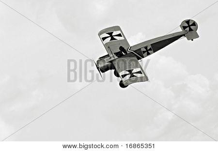 Historic plane Fokker Eindecker