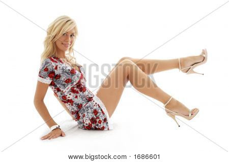 Classical Golden Heels Pin-Up Blond #3