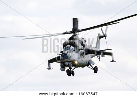 Helicopter Mi-24 Hind - Czech Air Force