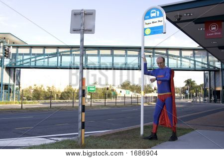 Super Bus Stop Watch Writing