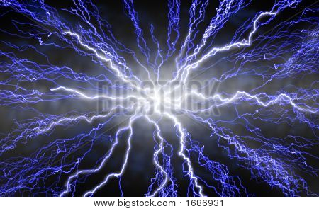 Radiating Lightning