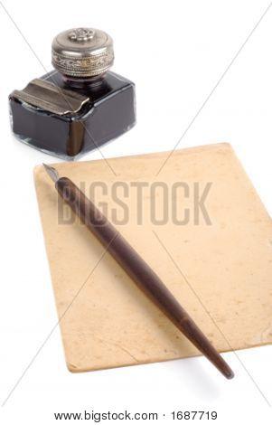 Vintage Writing Set