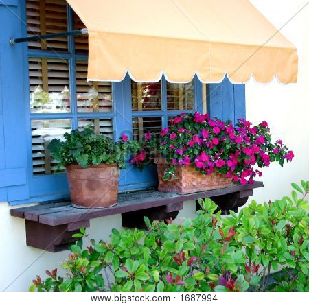 Garden Window With Awning