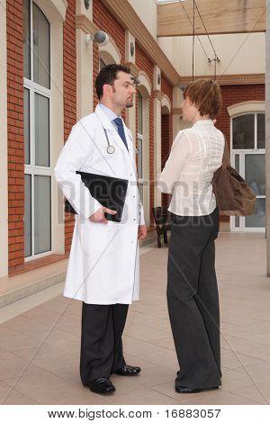 female patient male doctor conversation