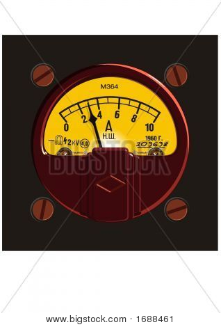 Old-Fashioned Ampermeter