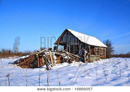 ruinas de la casa de campo
