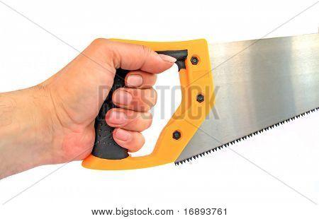 hand keeps saw