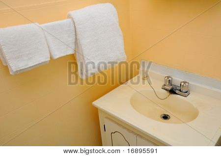 Wash Up Area In Hotel