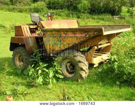 rostige Dumper-truck
