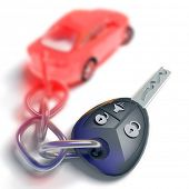foto of car key  - Car key - JPG