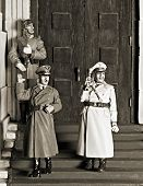 picture of hitler  - WWII scene  - JPG