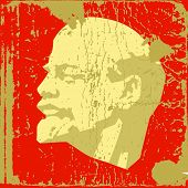 Постер, плакат: гранж фон