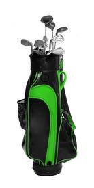 foto of golf bag  - Two color golf clubs bag  - JPG