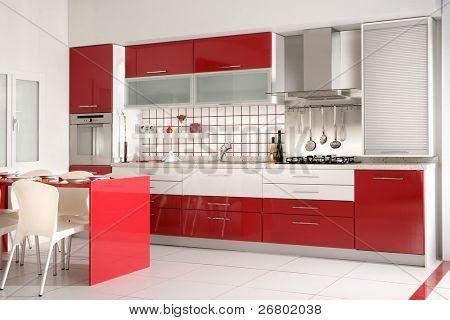 una imagen de cajones de cocina y encimera de granito