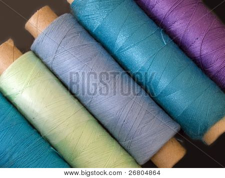 colored bobbins
