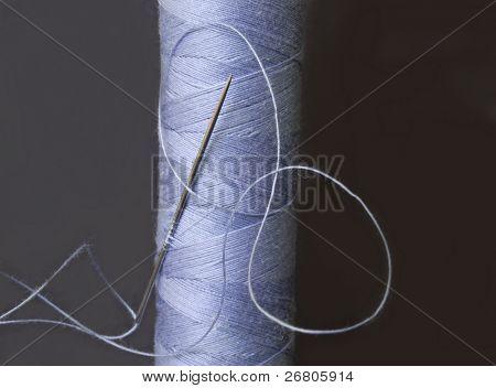 needle in the blue bobbin