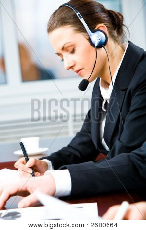 Busy Telephone Operator