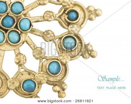 oriental jewelry with the place for your text