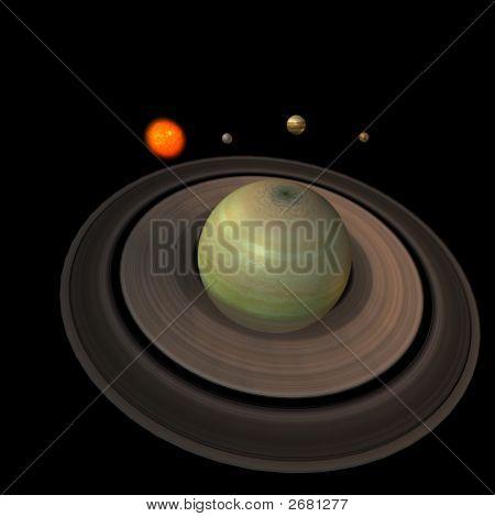 Solar System - Saturn