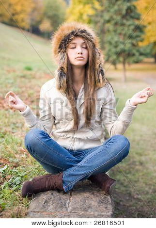 Cute Meditation.