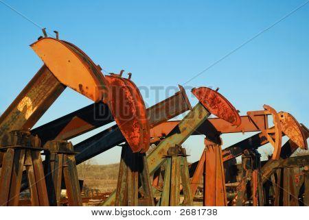 Pump Jack Yard