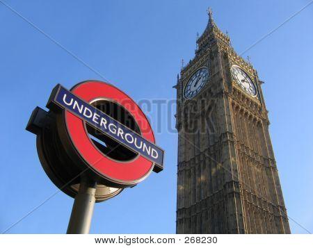 Big Ben y el metro de Londres