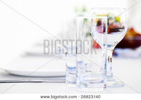utensílios de mesa