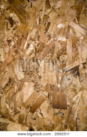 Particleboard.