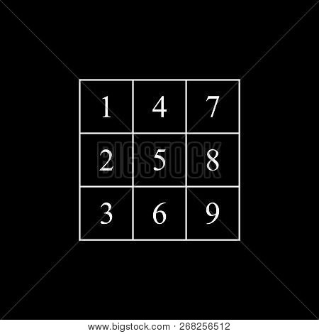 Henry Ford`s Magic Square Symbol