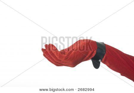 Red Velvet Hand