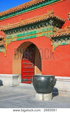 La histórica ciudad prohibida en Beijing