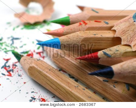 Colored Pencil-Staged