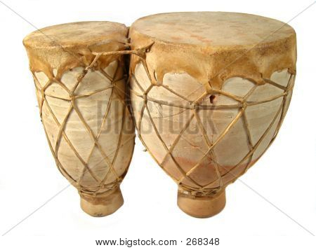 Isolated Bongos