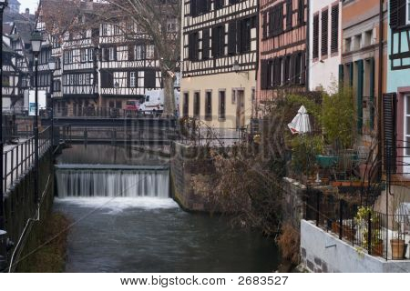 Weir In Petit France