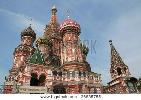 Kirche St. Basil, Moskau