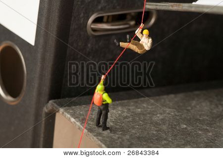 Abseiling On Office Files