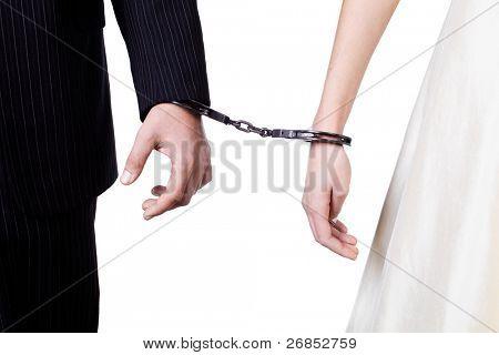 Cuffed hands