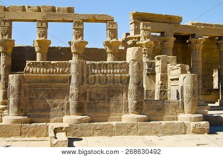 Philae isis Temple Aswan Egypt