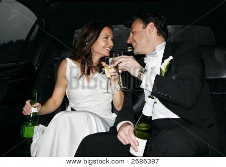 Michelle And Steve In Limo 007