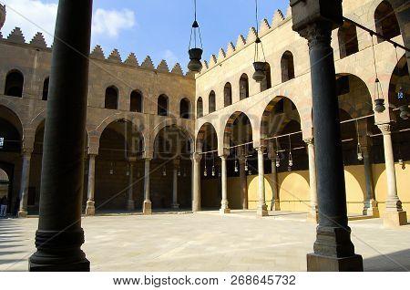 Alnasir Muhammad Mosque Cairo Egypt