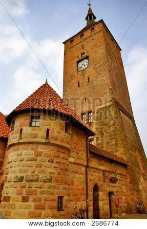 Weisser Turm, White Tower - Nurnberg, Germany