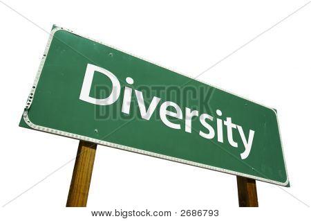 Diversity - Road Sign
