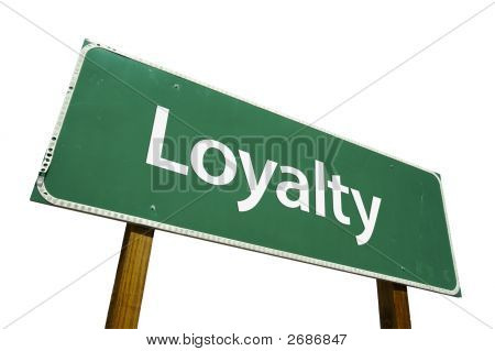 Loyalty Road Sign