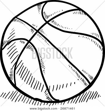 Basketball sketch