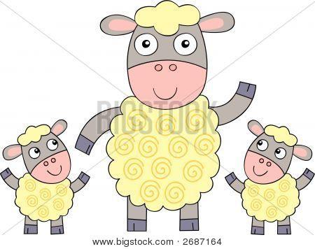 Sheep_And_Lamb.Eps