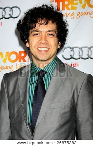 "LOS ANGELES - DEC 4:  Geoffrey Arend arrives at ""The Trevor Project's 2011 Trevor Live!"" at Hollywood Palladium on December 4, 2011 in Los Angeles, CA"