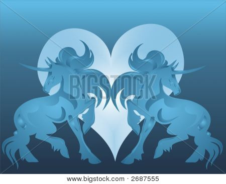 Unicorn And Heart