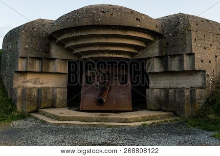 Remains Of A German Bunker
