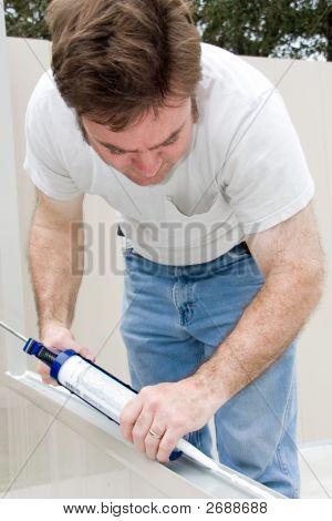 Handyman Caulking
