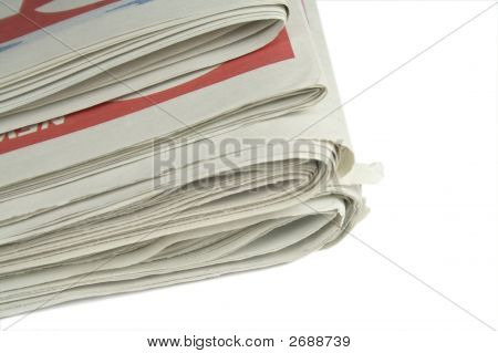 Pile Of Daily Newspapers